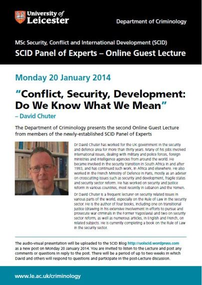 Online Guest Lecture 2