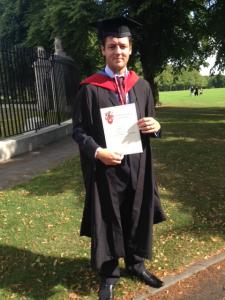 Stephen Coller graduation