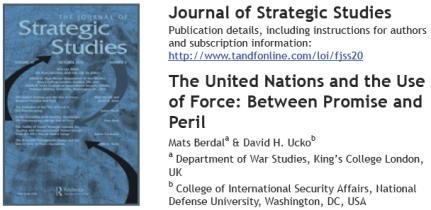 Strategic Studies