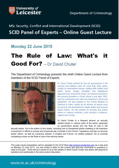 DC Guest Lecture June 2015
